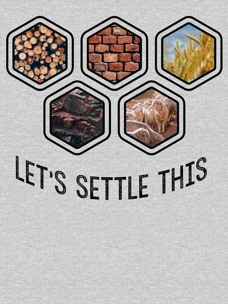 LET'S SETTLE THIS Settlers of Catan by starkle