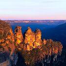 Three Sisters, Blue Mountains, NSW by Matt  Lauder