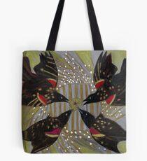 Four Calling Birds Tote Bag