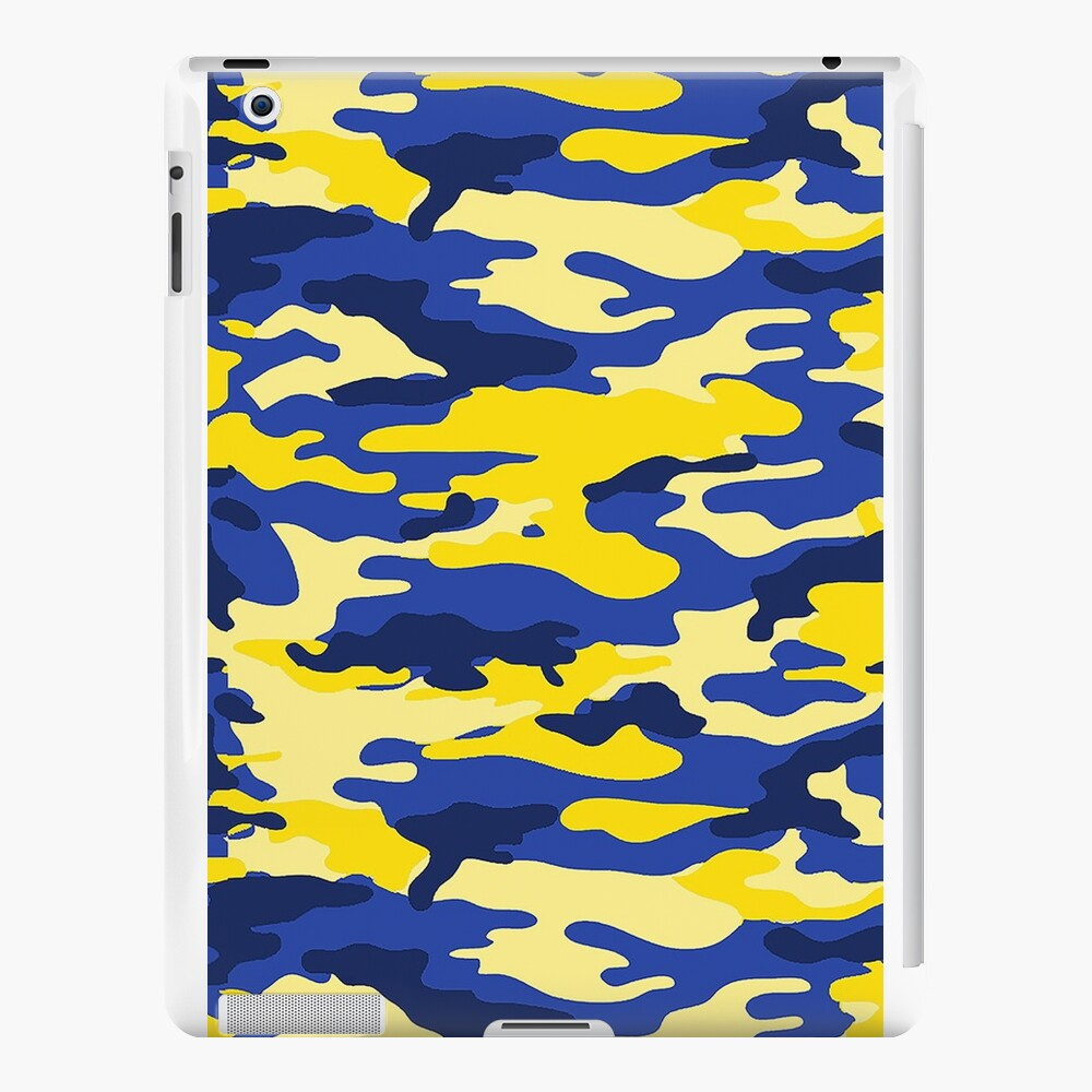 Mich Army Print iPad Cases & Skins