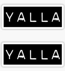 YALLA Sticker