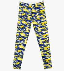 Mich Small Army Print (Larger Print avail.) Leggings
