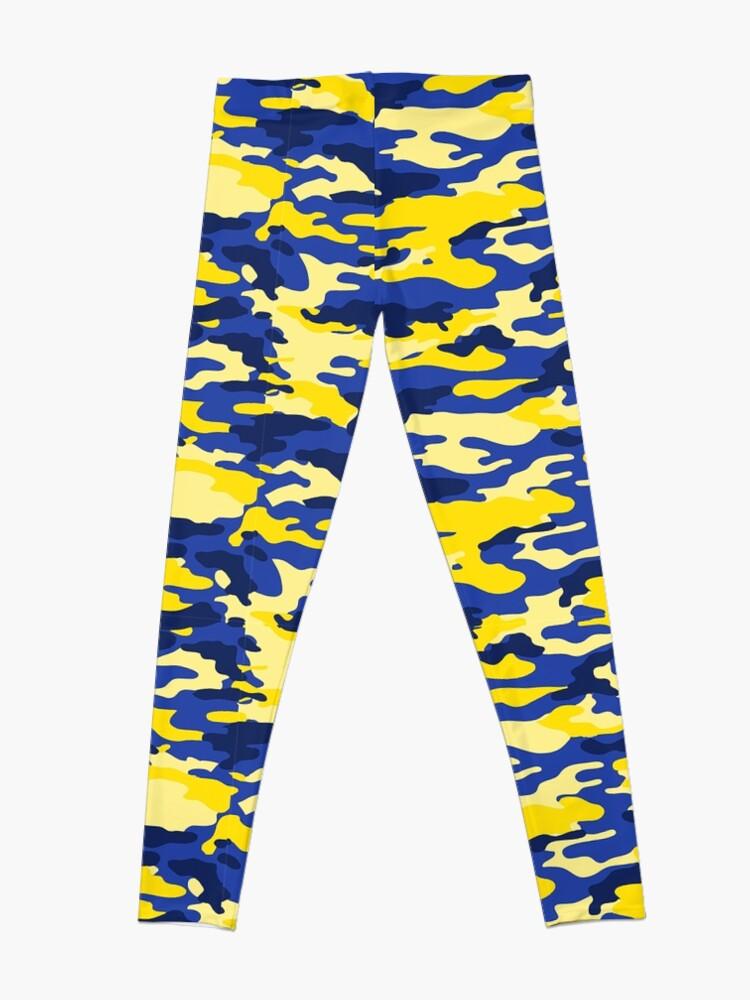 Alternate view of Mich Army Print Leggings