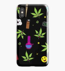 Super awesome Cute Stoner weed stuff iPhone Case/Skin