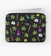 Super awesome Cute Stoner weed stuff Laptop Sleeve