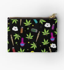 Super awesome Cute Stoner weed stuff Studio Pouch