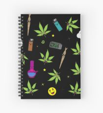 Super awesome Cute Stoner weed stuff Spiral Notebook