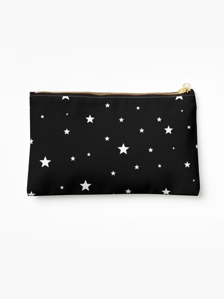 Scattered Stars - white on black by laurabethlove