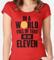 Be A Eleven Women's Fitted Scoop T-Shirt