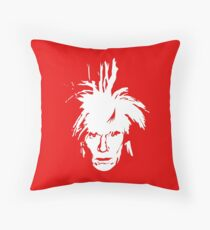 Andy Warhol Throw Pillow
