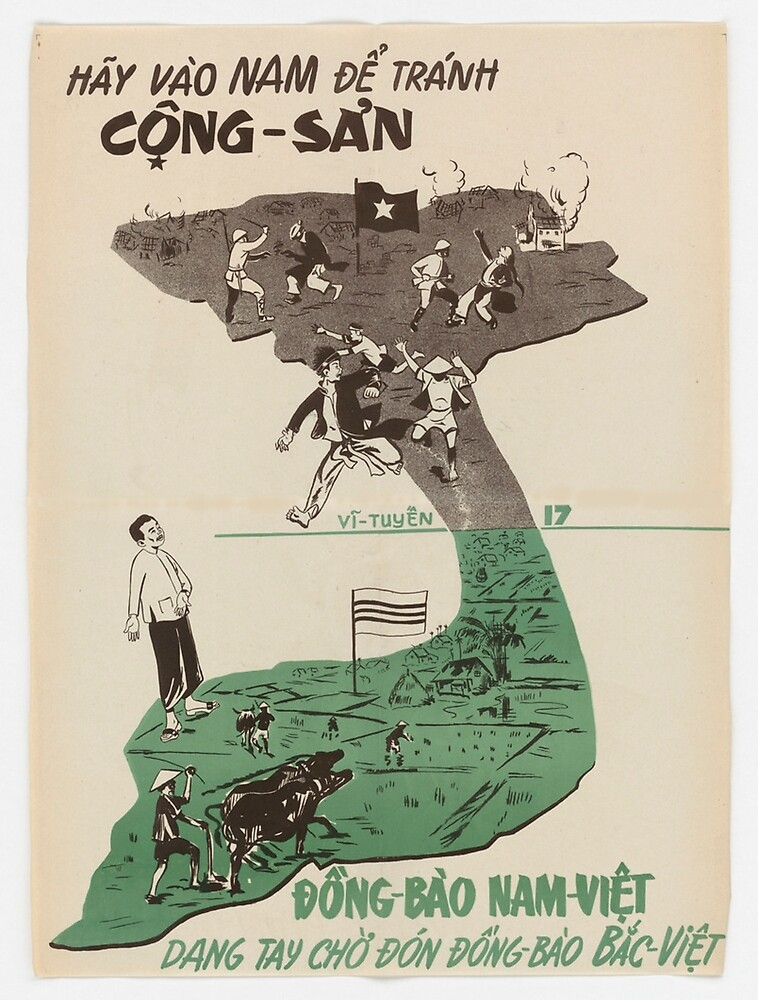 Vintage poster - Vietnam by mosfunky