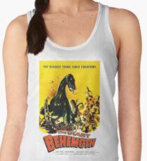 The giant behemoth, vintage horror movie poster Women's Tank Top