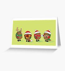 Bereit für Weihnachten Grußkarte