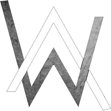 Alan Walker - Logo Merchandise by marshmellofans
