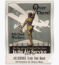 Vintage poster - Air Service Trade Test Board Poster
