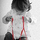 red ribbon by Rosina  Lamberti