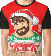 ADAM LIKES CROSSING ARMS AT XMAS PARTIES Graphic T-Shirt