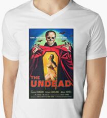 The undead, terror that screams from the grave, horror movie poster T-Shirt