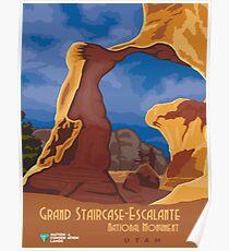 Vintage poster - Grand Staircase-Escalante Poster