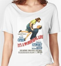 It's a wonderful life, Christmas movie poster Women's Relaxed Fit T-Shirt