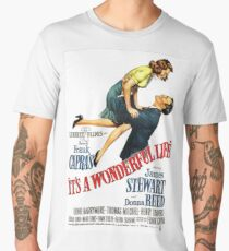 It's a wonderful life, Christmas movie poster Men's Premium T-Shirt