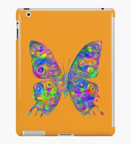 #DeepDream Motley Butterfly iPad Case/Skin