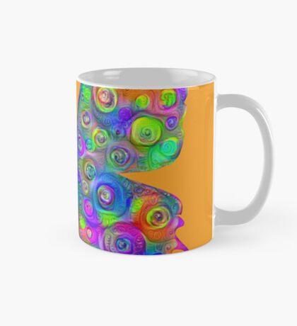 #DeepDream Motley Butterfly Mug