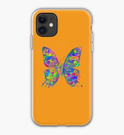 #DeepDream Motley Butterfly iPhone Case