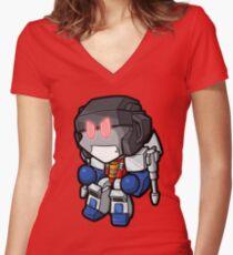 Lil Screamer Women's Fitted V-Neck T-Shirt