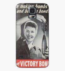 Vintage poster - Victory Bonds Case/Skin for Samsung Galaxy