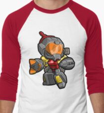 Lil Omega Men's Baseball ¾ T-Shirt