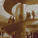 Stairway du Louvre by Chris Steele