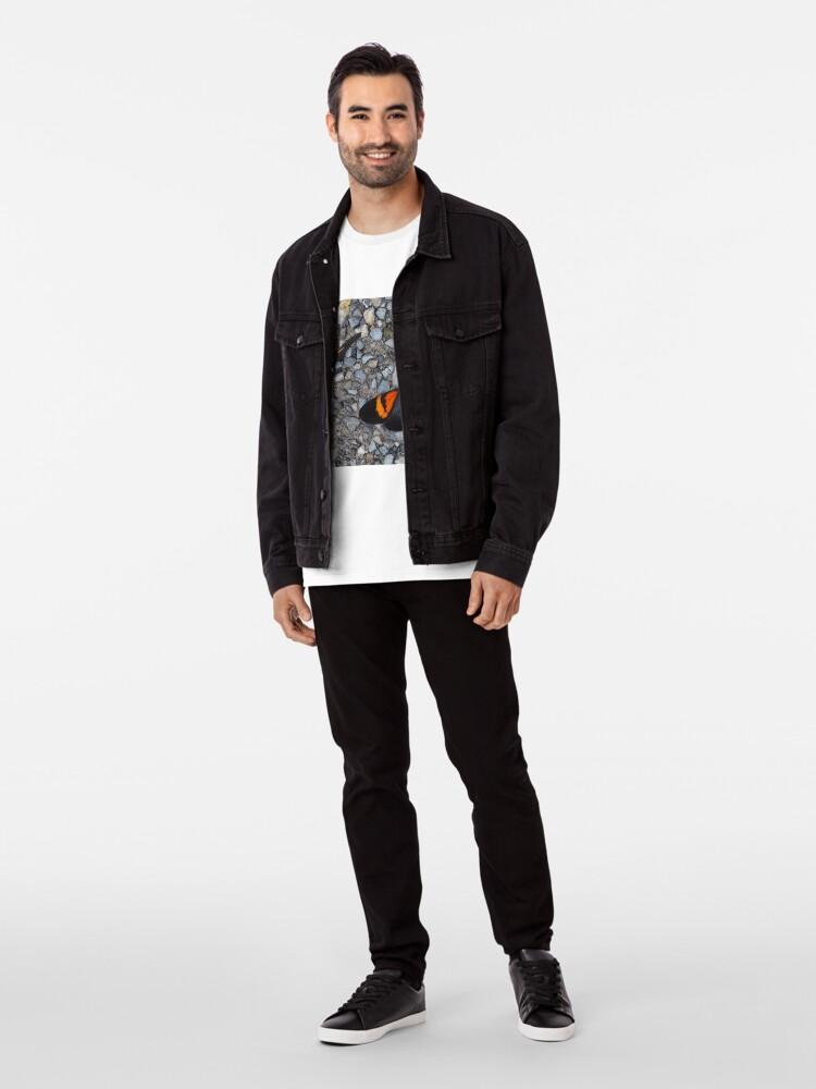 Alternative Ansicht von Two black and orange butterflies Premium T-Shirt