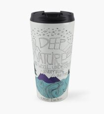 Einstein: Nature Travel Mug