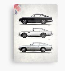 The DB Collection Metal Print