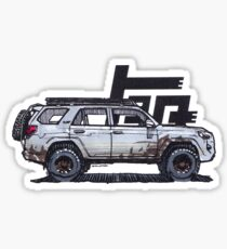 5th Gen 4Runner TRD - Ghost Sticker