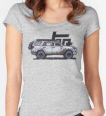 5th Gen 4Runner TRD - Ghost Women's Fitted Scoop T-Shirt