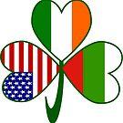 Bulgarian Irish American Shamrock by AuntieShoe