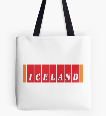 NDVH Iceland Tote Bag