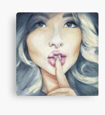 Pretty Little Secrets Canvas Print
