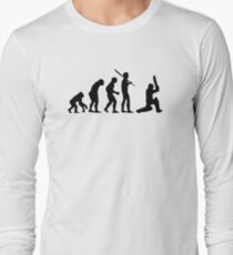 Cricket T-Shirt Long Sleeve T-Shirt