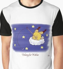 Fishing for Wishes Graphic T-Shirt