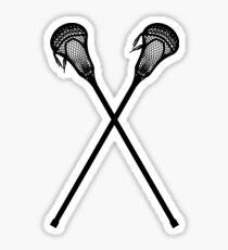 lacrosse stick Sticker