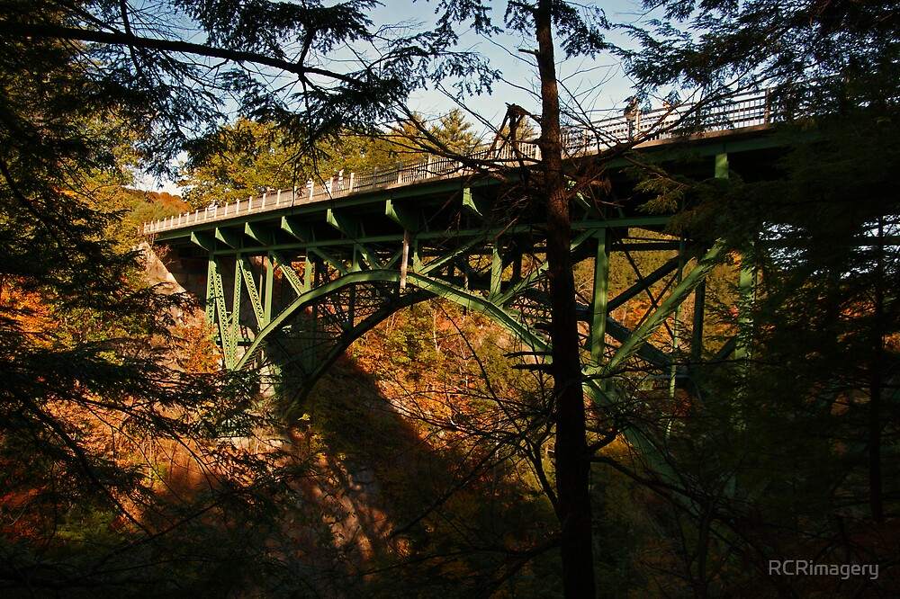Bridge across Quechee Gorge, VT by RCRimagery