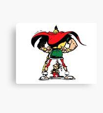 Asterix hi-res Canvas Print