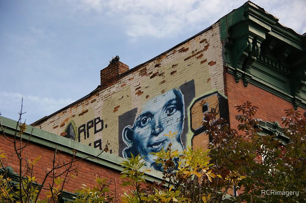 Graffiti in Burlington, VT by RCRimagery