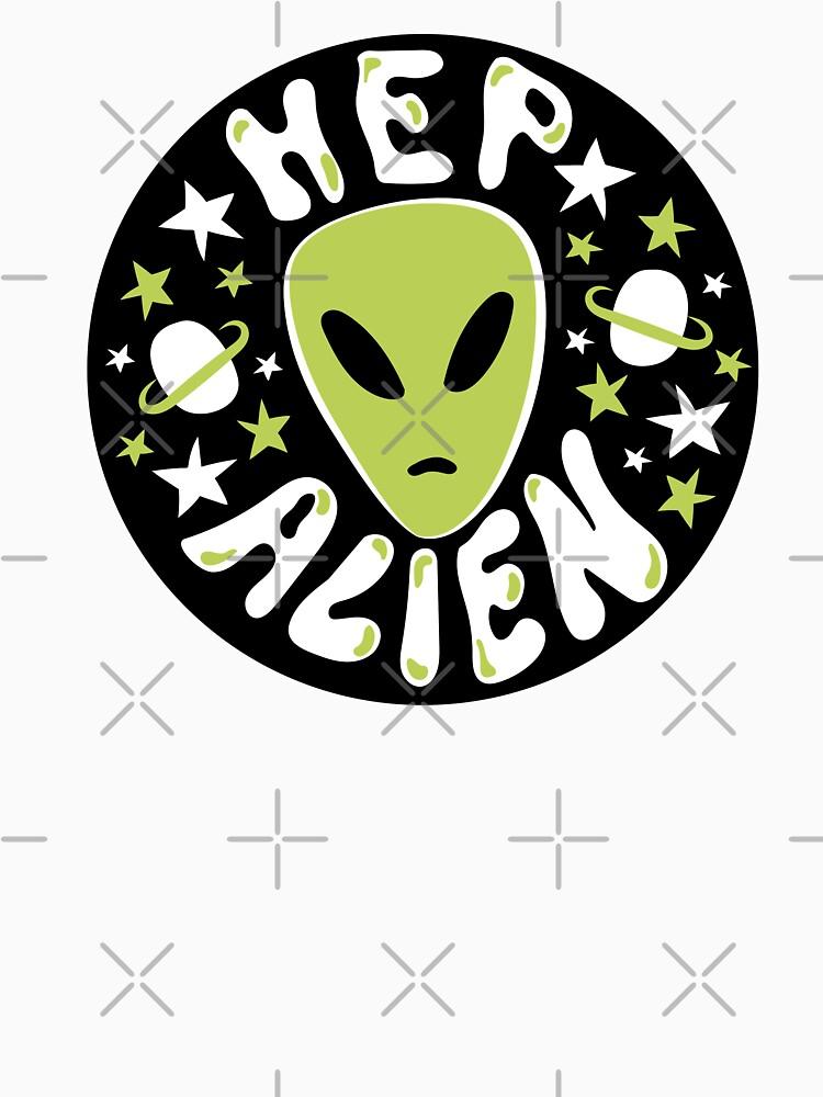 Hep Alien by doodlebymeg