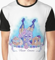 Flower Crowns Graphic T-Shirt