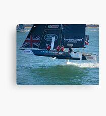 Extreme Sailing- Team Land Rover Canvas Print