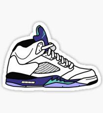 Jordan 5 Grape Sticker